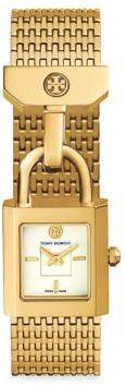 Tory BurchTory Burch Surrey Goldtone Stainless Steel Bracelet Watch