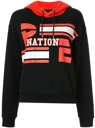 P.E Nation Court Player hooded sweatshirt