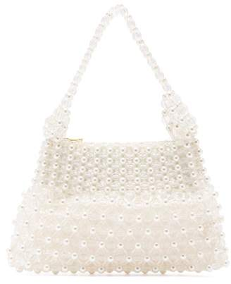 Shrimps Quinn Faux Pearl Embellished Bag - Womens - Cream Multi