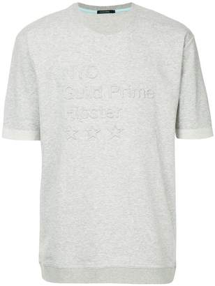GUILD PRIME embroidered quote T-shirt