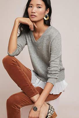 Brochu Walker Layered Plisse Sweater
