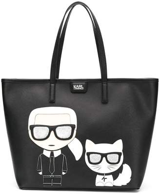 Karl Lagerfeld K/Ikonik shopper bag