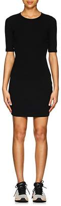 Alexander Wang Women's Rib-Knit Cutout Fitted Dress