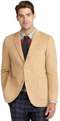 Brooks Brothers Men's Cambridge Camelhair Three Button Sports Coat Jacket Tan