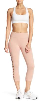 Betsey Johnson Mini X Banded Cropped Leggings