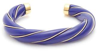Aurelie Bidermann Diana gold-plated twisted cuff
