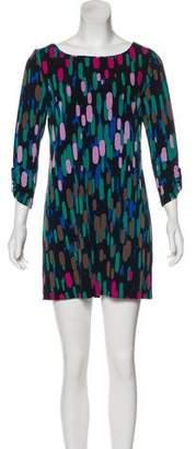 Tibi Printed Long-Sleeve Tunic