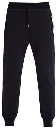 Moncler Gamme Bleu Basic Slim Leg Cotton Track Pants - Mens - Black