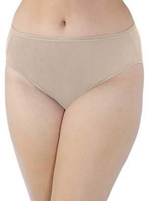 Vanity Fair Women's Plus Size Illumination Hi Cut Panty 13810