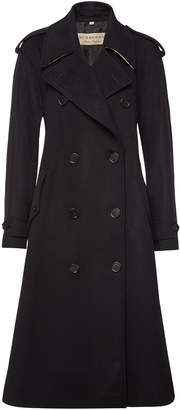 Burberry Kilbirnie Wool Coat with Cashmere