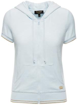 Juicy Couture Micro Terry Short Sleeve Robertson Jacket