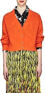 Prada Women's Mohair-Blend Cardigan - Orange