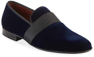 Magnanni Men's Velvet Formal Loafers