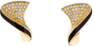 Christian Dior Christian Dior Twist Crystal Earrings