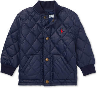 Polo Ralph Lauren Ralph Lauren Baby Boys Quilted Baseball Jacket