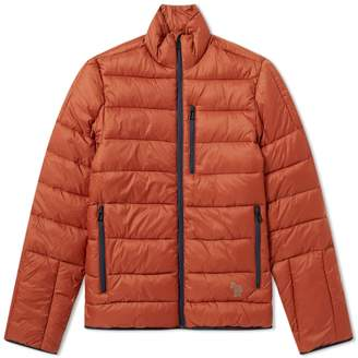 Paul Smith Reflective Zebra Quilted Jacket