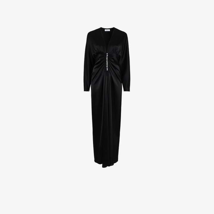 Racil embellished ruched dress