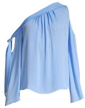 Ramy Brook Cassie Silk One Shoulder Top