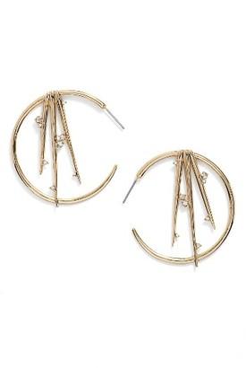 Women's Alexis Bittar Crystal Hoop Earrings $175 thestylecure.com