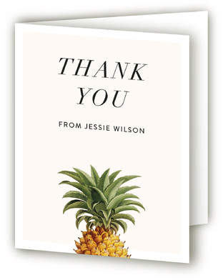 Party in Paradise Adult Birthday Party Thank You Cards
