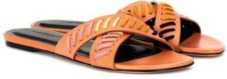 Isabel Marant Jansee leather slides