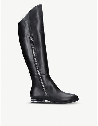 DKNY Lolita leather knee-high boots