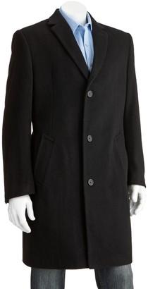 Jean Paul Gaultier Germain Men's Jean-Paul Germain Classic-Fit Jeffery 38-in. Wool-Blend Top Coat