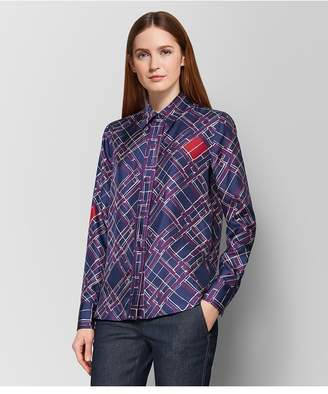 Bottega Veneta Multicolor Silk Shirt