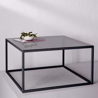 west elm Coffee Table - Gray Glass Surface