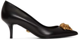 Versace Black Tribute Medusa Heels