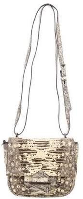 Reed Krakoff Lizard Mini Standard Crossbody Bag