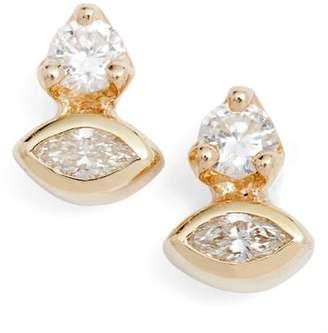 Chicco Zoe Diamond Cluster Stud Earrings