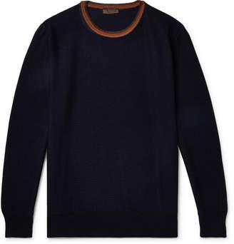 Altea Contrast-Trimmed Virgin Wool Sweater