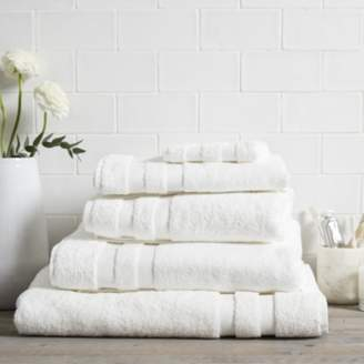 The White Company Classic Double Border Towels