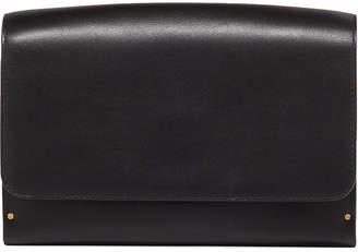 The Row Tool Bag Small Calf/Wooden Clutch Bag