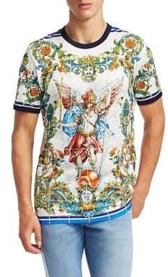 Dolce & Gabbana Cotton Maiolica Tee