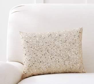 Pottery Barn Monique Lhuillier Beaded Lumbar Pillow