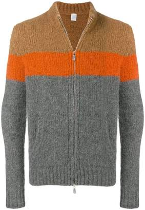 Eleventy colour block cardigan