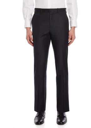 Lauren Ralph Lauren Charcoal Wool Flannel Dress Pants