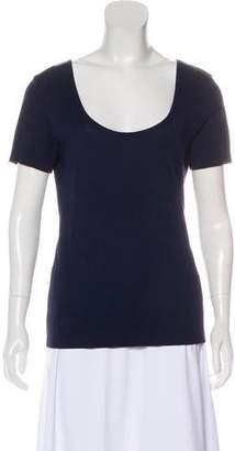 Ralph Lauren Black Label Short Sleeve Scoop Neck Top