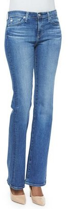 AG Angel 13 Years Mid-Rise Boot-Cut Jeans $215 thestylecure.com