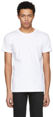 Naked and Famous Denim White Ring Spun T-Shirt