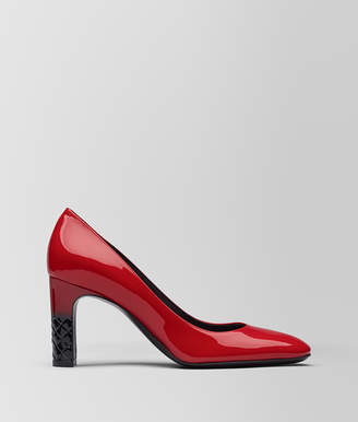 Bottega Veneta CHINA RED PATENT CALF ISABELLA PUMP