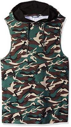 ROBUST Men's Army Printed Sleeveless Army Printed Vest (Size-)