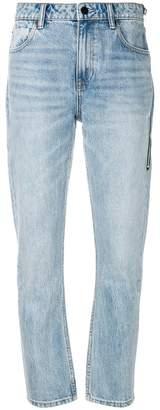 Alexander Wang Cult straight-leg jeans