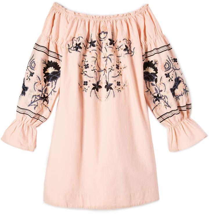 Free People Fleur Du Jour Mini Dress 14