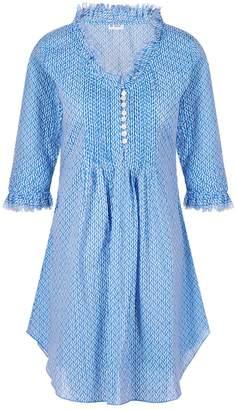 At Last... - Annabel Cotton Tunic Sky