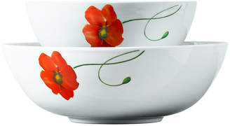 Tabletops Unlimited Tabletops Gallery Poppy 2-pc. Serving Bowl Set
