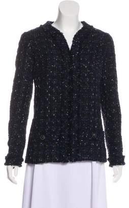 Chanel 2016 Metallic Tweed Jacket w/ Tags
