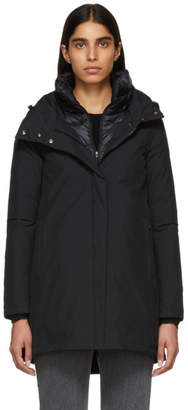 Herno Black A-Shape Down Coat